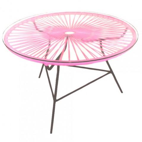 table basse zipolite boqa rose