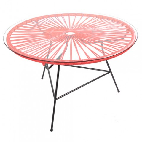 table basse zipolite boqa rouge
