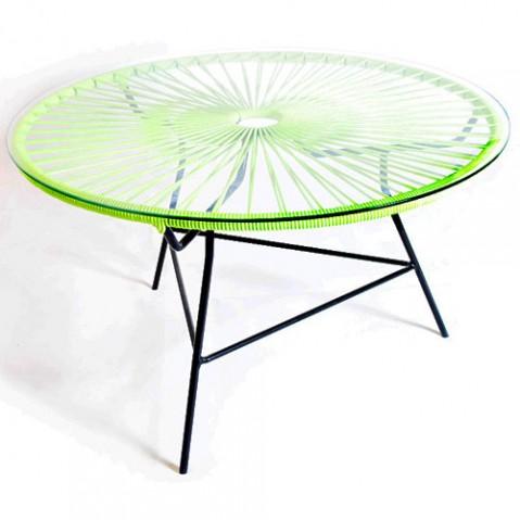 table basse zipolite boqa vert anis
