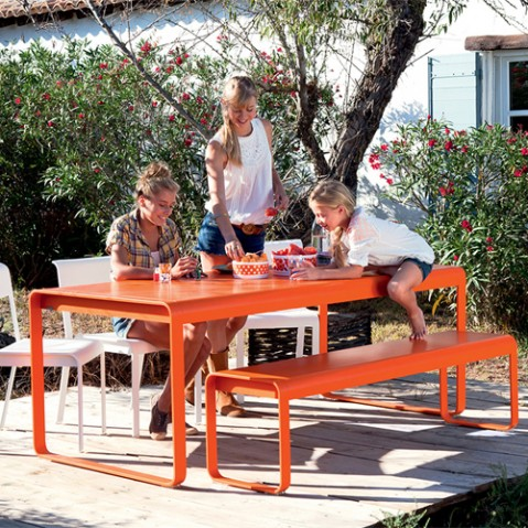 table bellevie fermob capucine