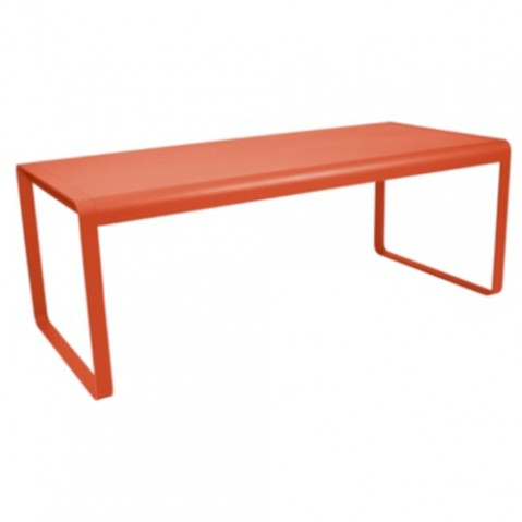 table bellevie fermob capucine