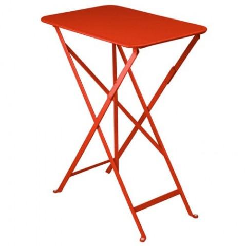 table bistro 37 fermob coquelicot