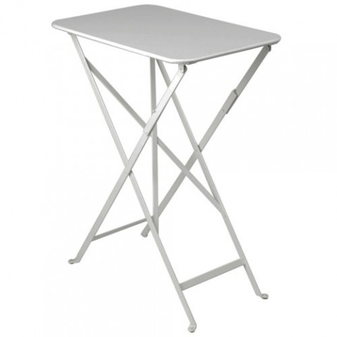 table bistro 37 fermob gris metal