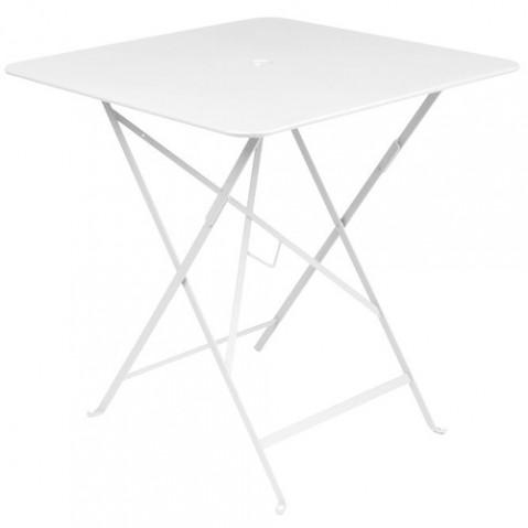 table bistro 71 fermob blanc