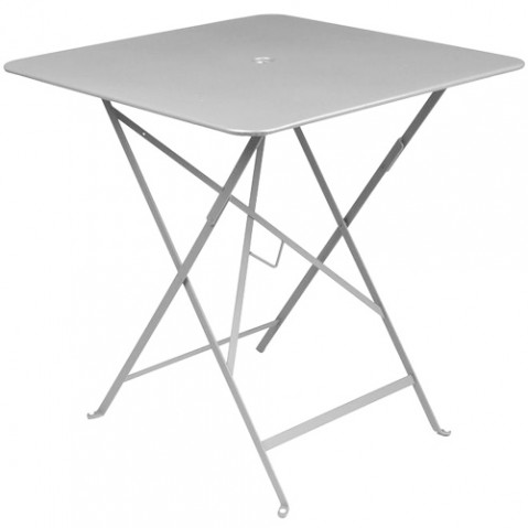 table bistro 71 fermob gris metal