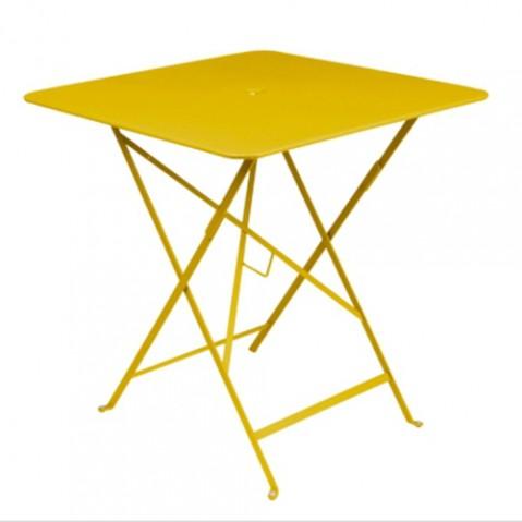 table pliante bistro 71 fermob miel