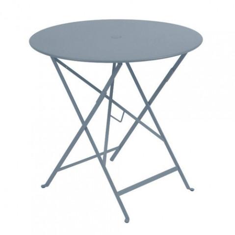 table ronde bistro 77 fermob gris orage