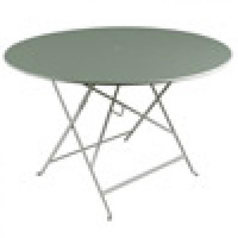 table pliante bistro Fermob romarin D117cm
