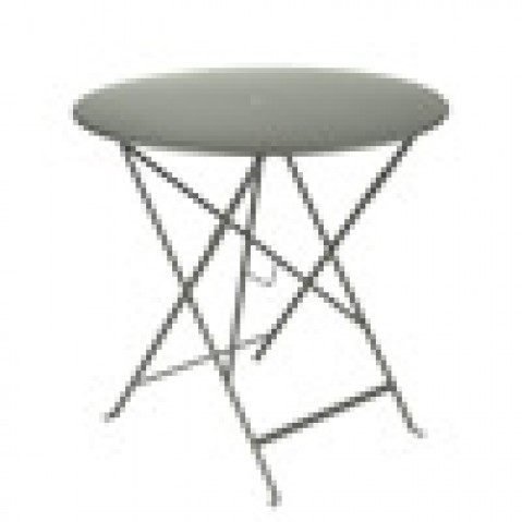 table pliante bistro Fermob romarin D77cm