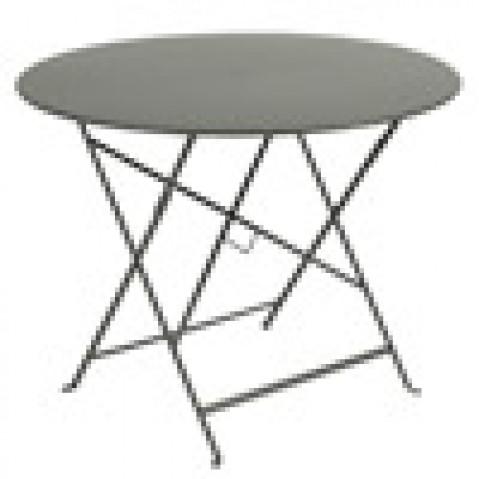 table pliante bistro Fermob romarin D96cm