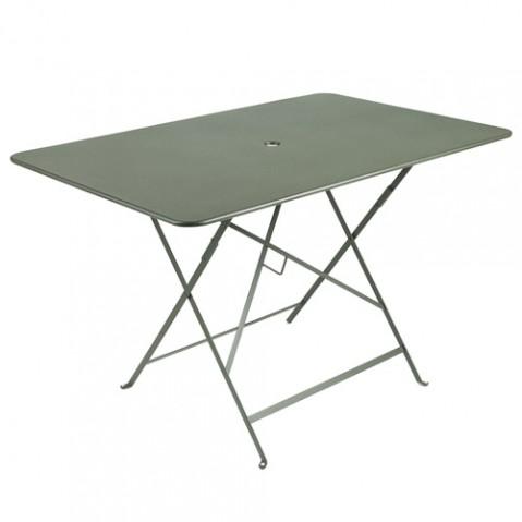 table pliante Bistro Fermob romarin 117x77cm