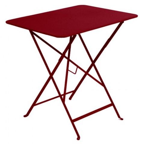 table rectangulaire 77 bistro fermob piment