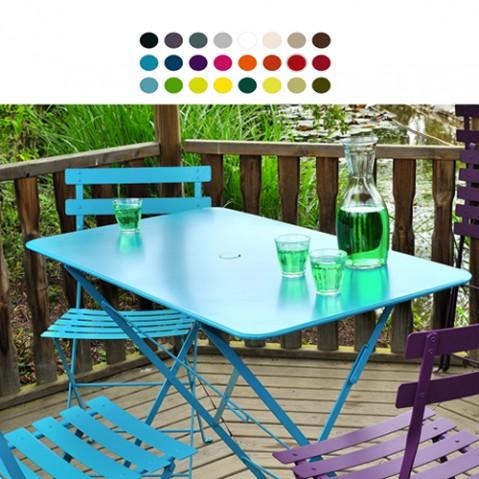 table rectangulaire 97 bistro fermob cedre