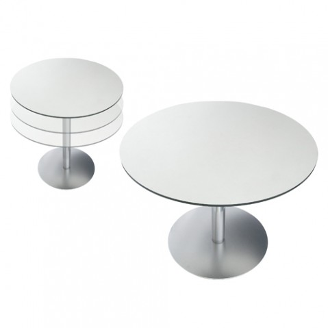 table reglable brio la palma 60 blanc