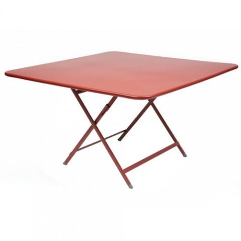 table pliante fermob caractere coquelicot