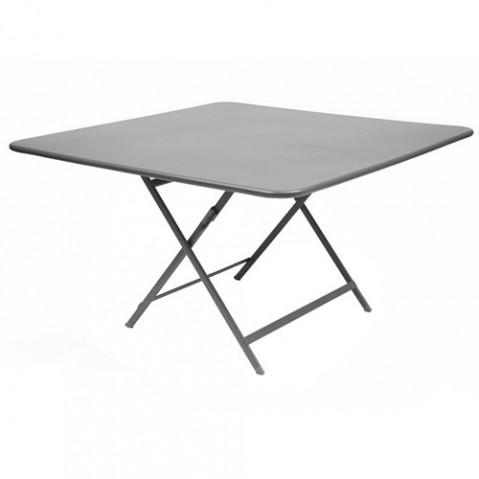 table pliante fermob caractere gris metal