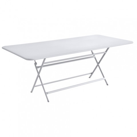 table caractere rectangulaire fermob blanc