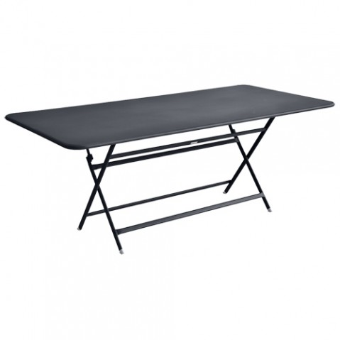 table caractere rectangulaire fermob carbone