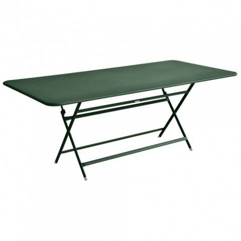 table caractere rectangulaire fermob cedre