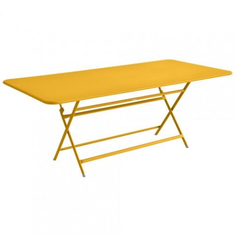 table caractere rectangulaire fermob miel