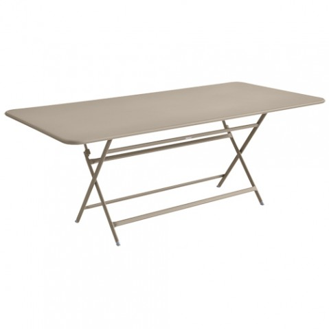 table caractere rectangulaire fermob muscade