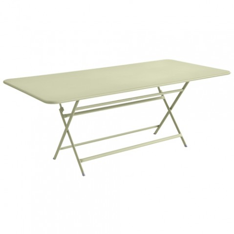 table caractere rectangulaire fermob tilleul