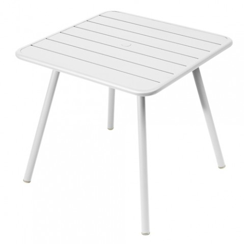 table luxembourg 80 fermob blanc