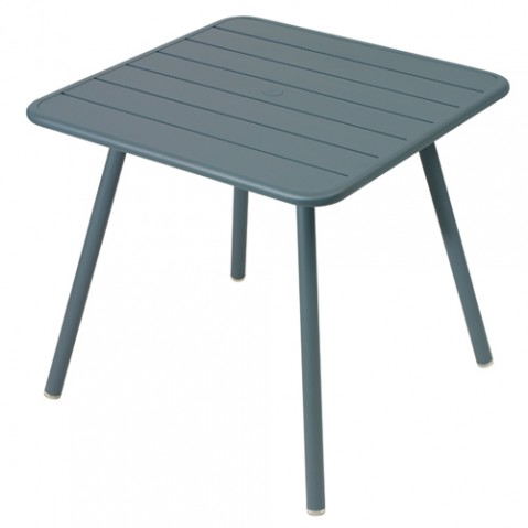 table luxembourg 80 fermob gris orage