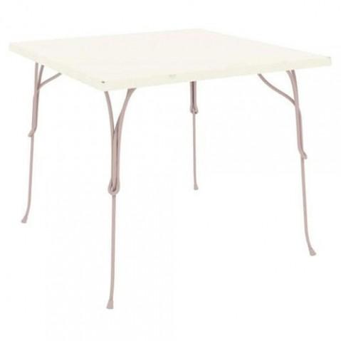 table carree vigna magis gris chaud