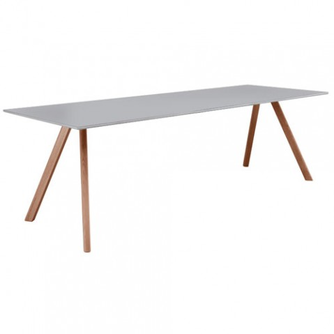 table copenhague 250 hay gris