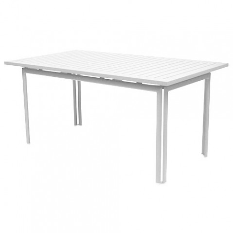 table costa 160 fermob blanc