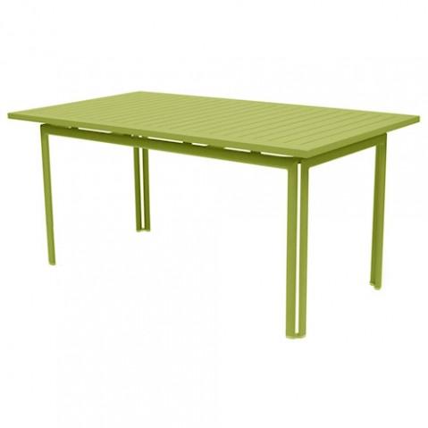 table costa 160 fermob tilleul