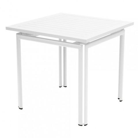 table costa 80 fermob blanc