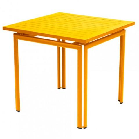 table costa 80 fermob miel
