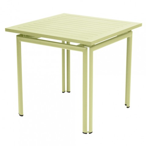 table costa 80 fermob tilleul