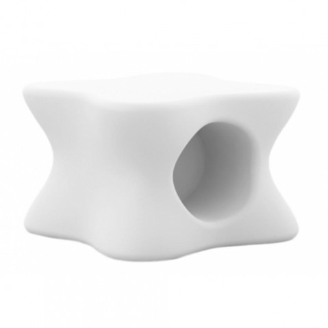 table basse doux vondom blanc