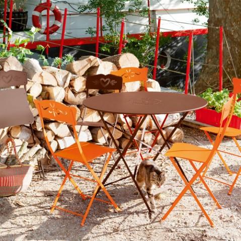 table floreal 77 fermob romarin