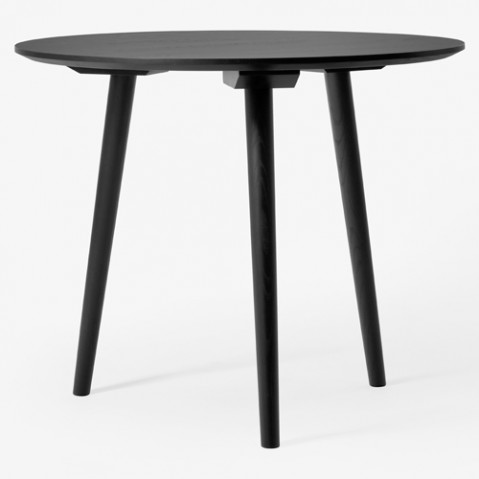 table ronde 90 in between and tradition chene noir