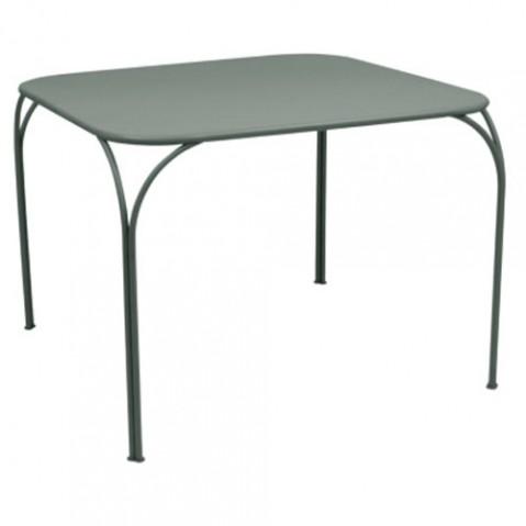 table kintbury fermob gris orage