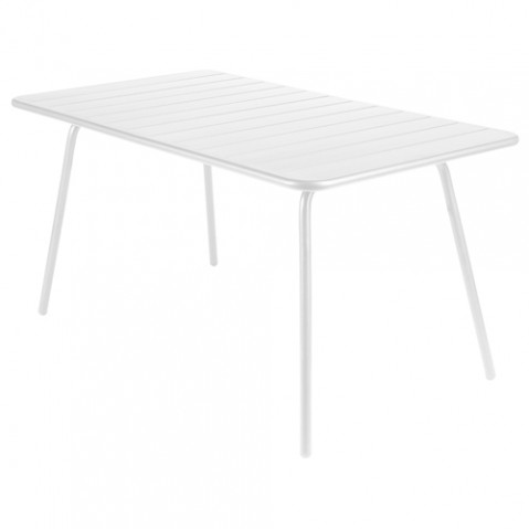 table luxembourg 143 fermob blanc