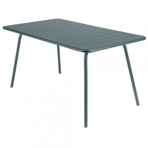 table luxembourg 143 fermob gris orage