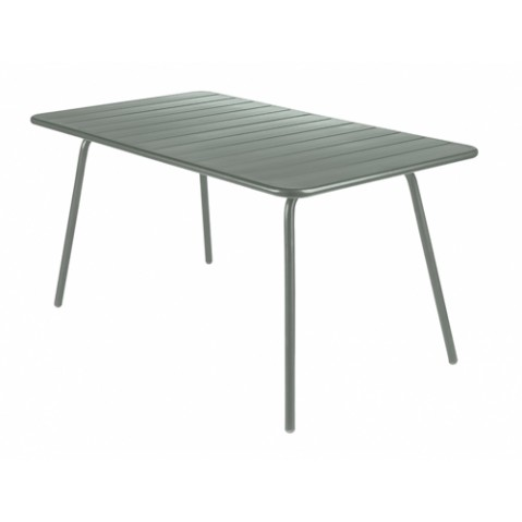 Table Luxembourg 143x80cm Fermob romarin