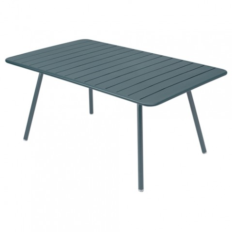 table luxembourg 165 fermob gris orage