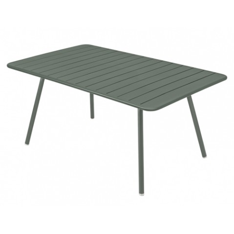 Table Luxembourg 165x100cm Fermob romarin