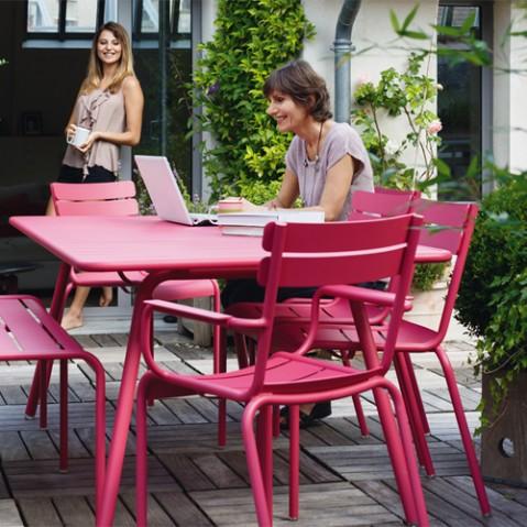 grande table luxembourg fermob reglisse