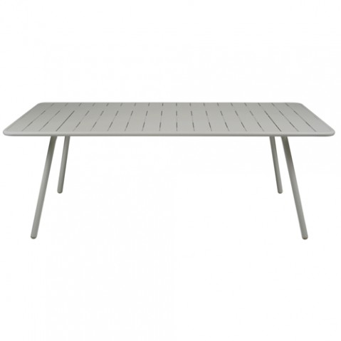 grande table luxembourg fermob gris metal