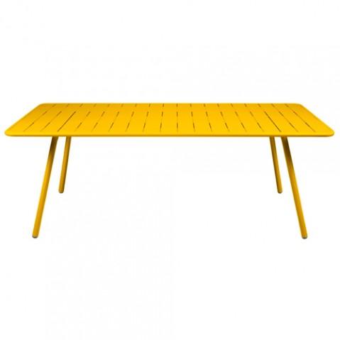 grande table luxembourg fermob miel