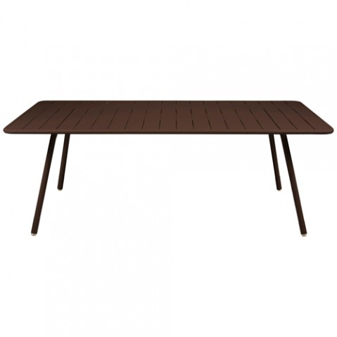 grande table luxembourg fermob rouille