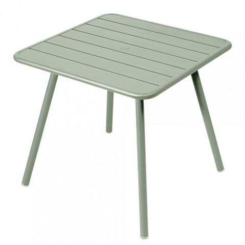 table luxembourg 80 4 pieds fermob cactus