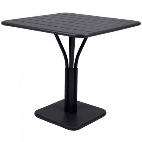table carree luxembourg 1 pied fermob reglisse